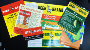 Yee Lim Adhesives Industries Leaflets