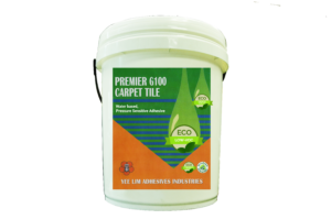 Green label carpet tile adhesive